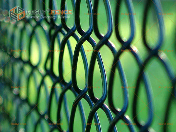 PVC chain link fence China