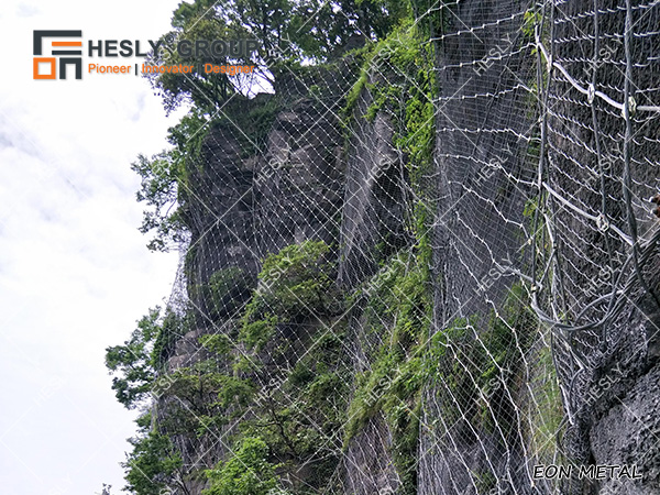 Rockfall Mesh Barrier China Factory Sales